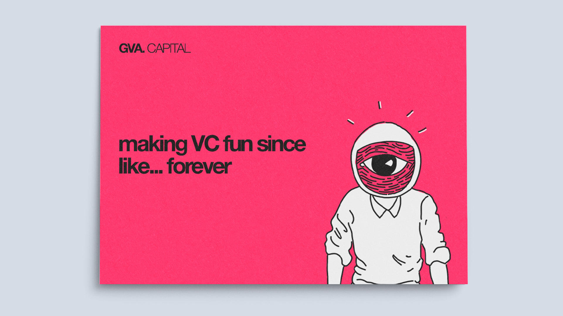 Defining the brand for GVA Capital: a startup-friendly seed fund