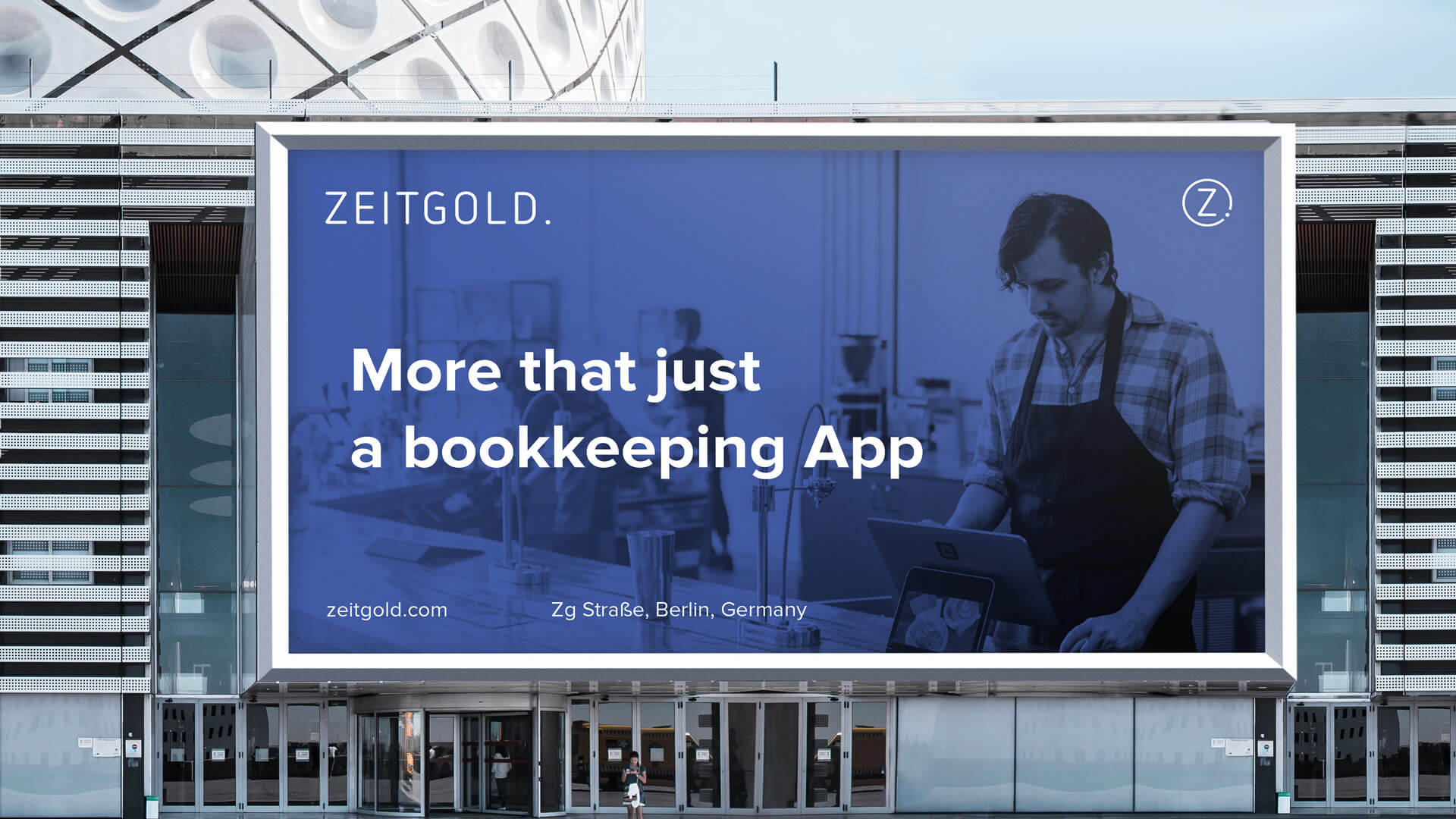 New brand for Zeitgold, Germany's leading fintech startup